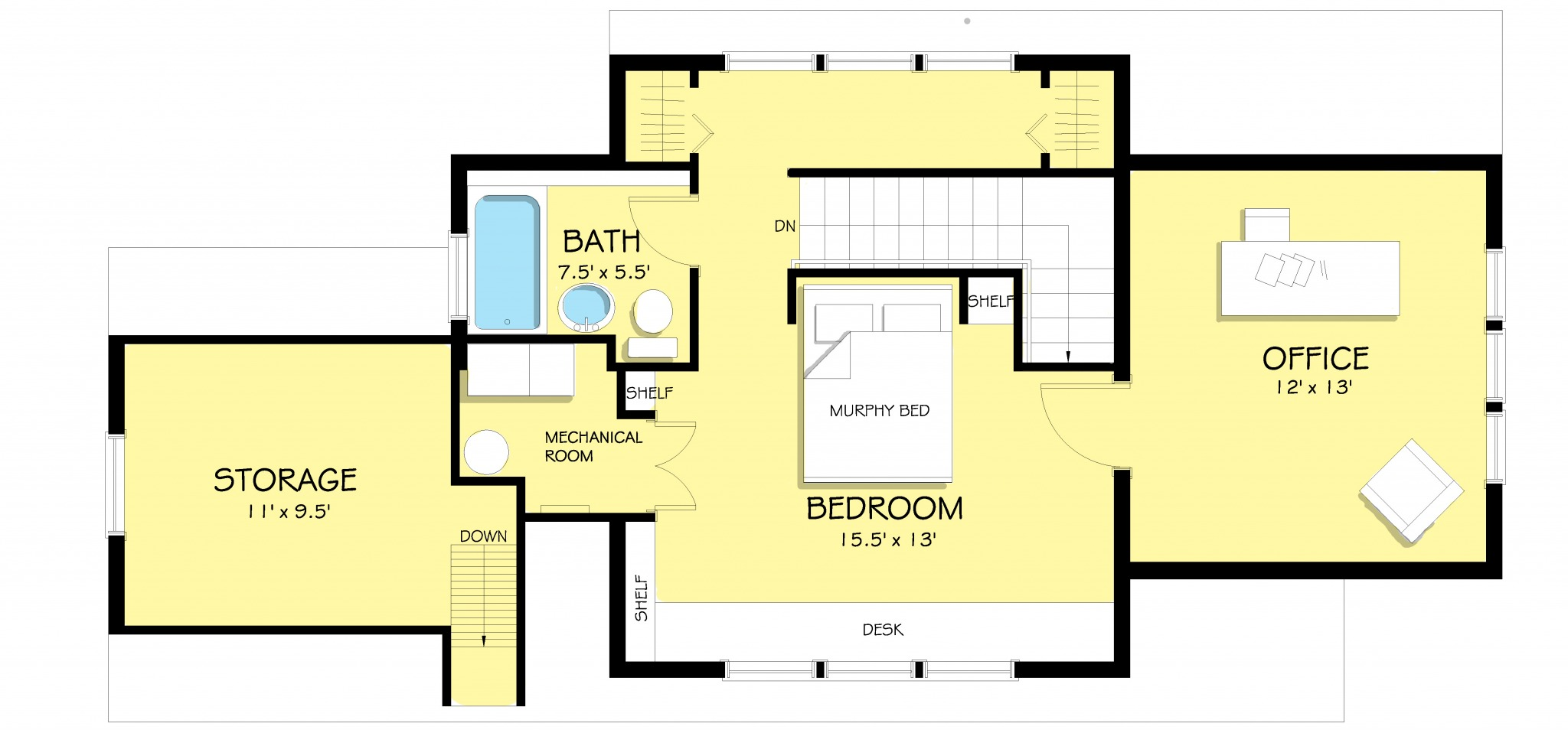 Upper Level floor plans